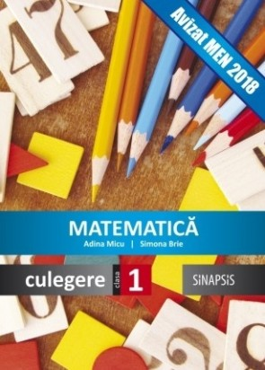 Culegere - Matematică - clasa I