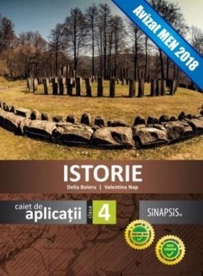 Caiet de aplicații - Istorie - clasa a IV-a