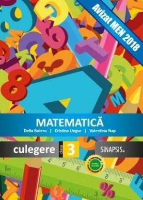 Matematică - culegere clasa a III-a