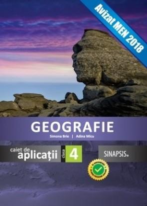 Caiet de aplicații - Geografie - clasa a IV-a