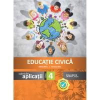 Caiet de aplicații - Educație Civică -  clasa a IV-a