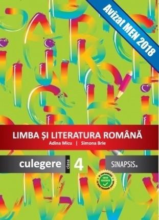 Culegere - Limba română - clasa a IV-a