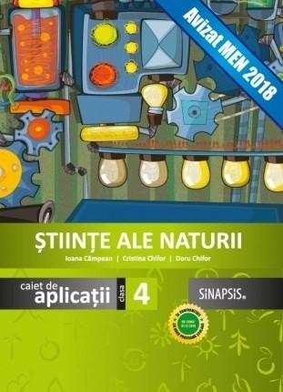 Caiet de aplicații - Științe ale naturii - clasa a IV-a
