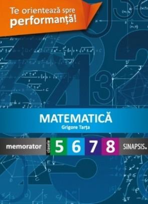 Memorator - Matematică - clasele V - VIII