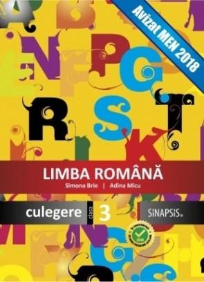 Culegere - Limba română - clasa a III-a