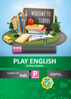 Play English Kids - caiet de limba engleză pentru clasa pregătitoare