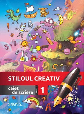 Caiet de scriere - Stiloul creativ - clasa I