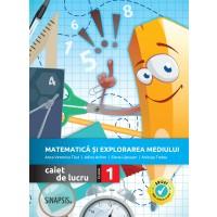 Matematică și explorarea mediului - caiet de lucru pentru clasa I >>NOU<<