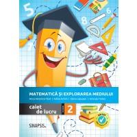 Matematică și explorarea mediului - caiet de lucru pentru clasa a II-a >>NOU<<