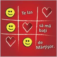 Felicitare PUZZLE mărțișor - X0